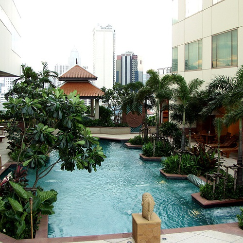 Pool Jasmine City Hotel Bangkok